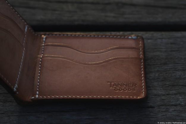 Tanner Goods bifold wallet