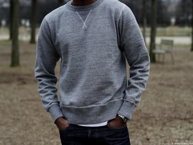Buzz Rickson | Plain Sweat (grey)