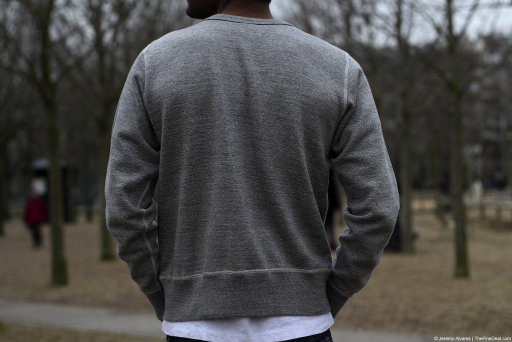 Buzz Rickson Grey Sweatshirt The Fine Deal