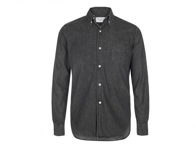 En soldes | Our Legacy 1950's Black Denim Shirt
