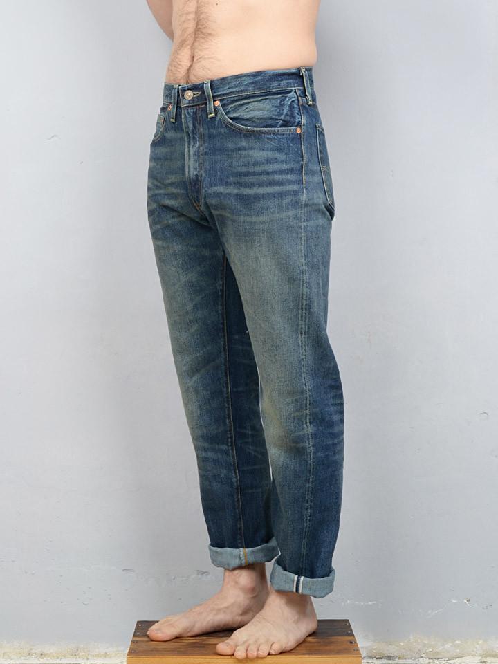 Levi S Vintage Clothing 1954 501 Jeans Barrel Wash