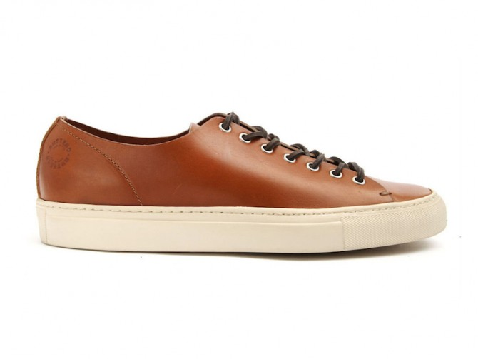 Buttero | Tanino Leather Sneakers