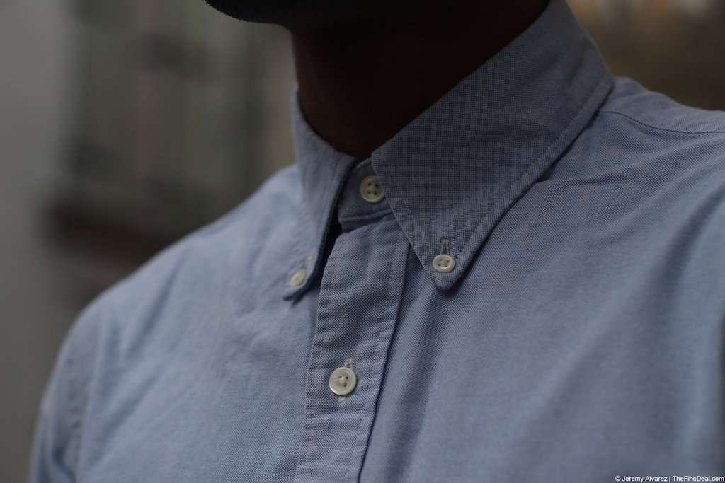 RRL Blue Oxford Shirt The Fine Deal