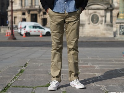 Left Field NYC | Khaki Japanese Twill Kerouac Chino