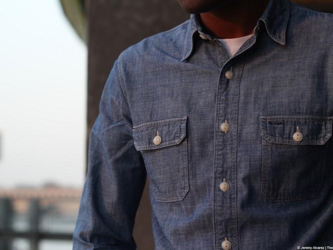 RRL | Matlock Chambray Shirt
