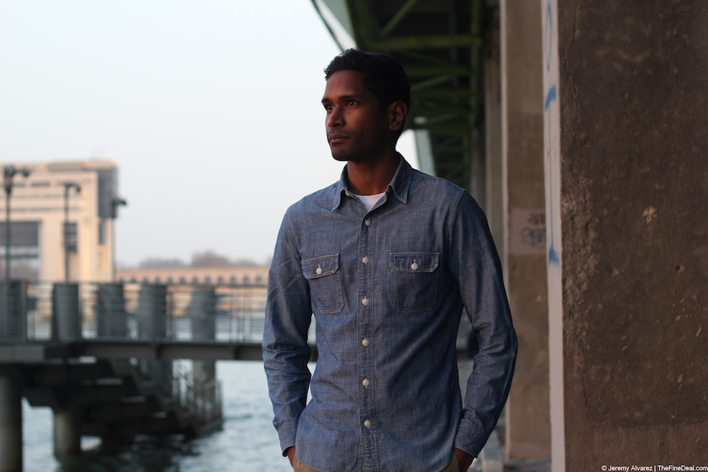 RRL Chambray Shirt The Fine Deal