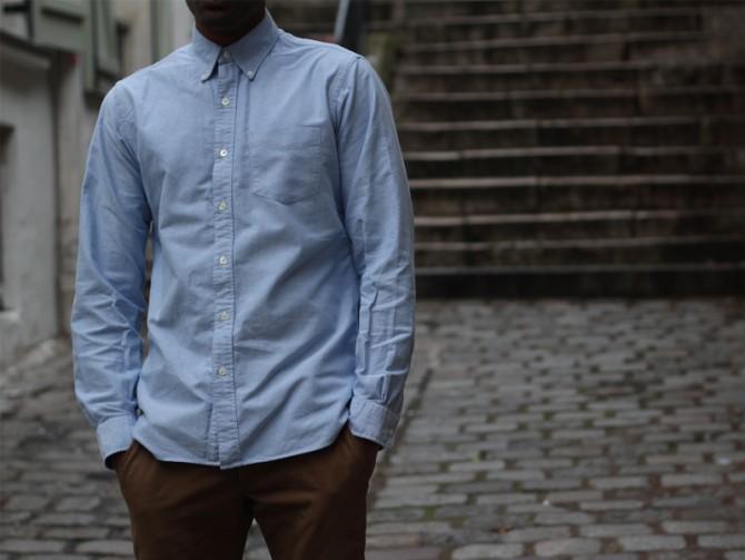 RRL | Blue Oxford Shirt