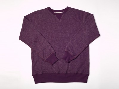 Archival Clothing | Lightweight Sweat Eggplant