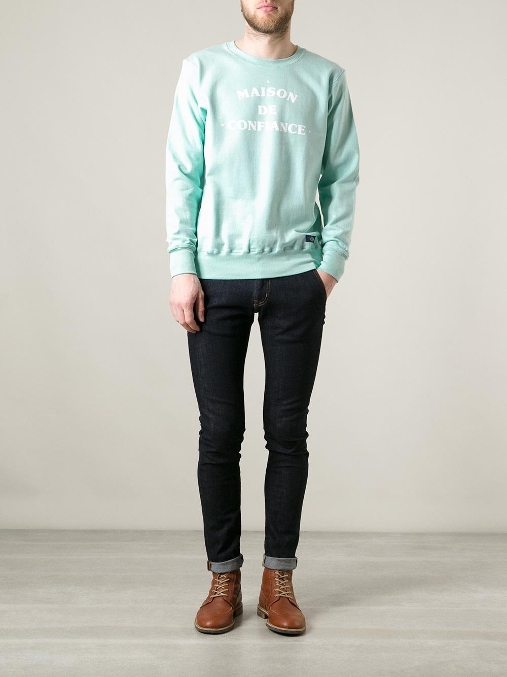 Bleu de Paname Sweatshirt 2