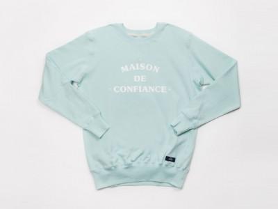 Bleu de Paname | Sweatshirt Maison de Confiance (Glace)