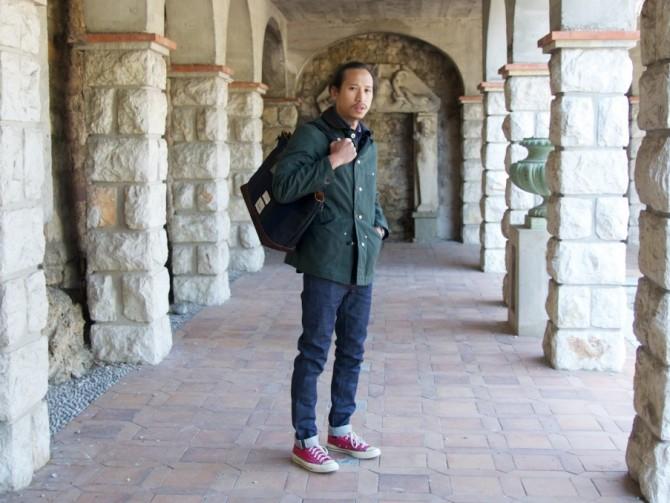 Antic Boutik | Outfit – Junya Watanabe, Master-Piece, Converse, A.P.C.