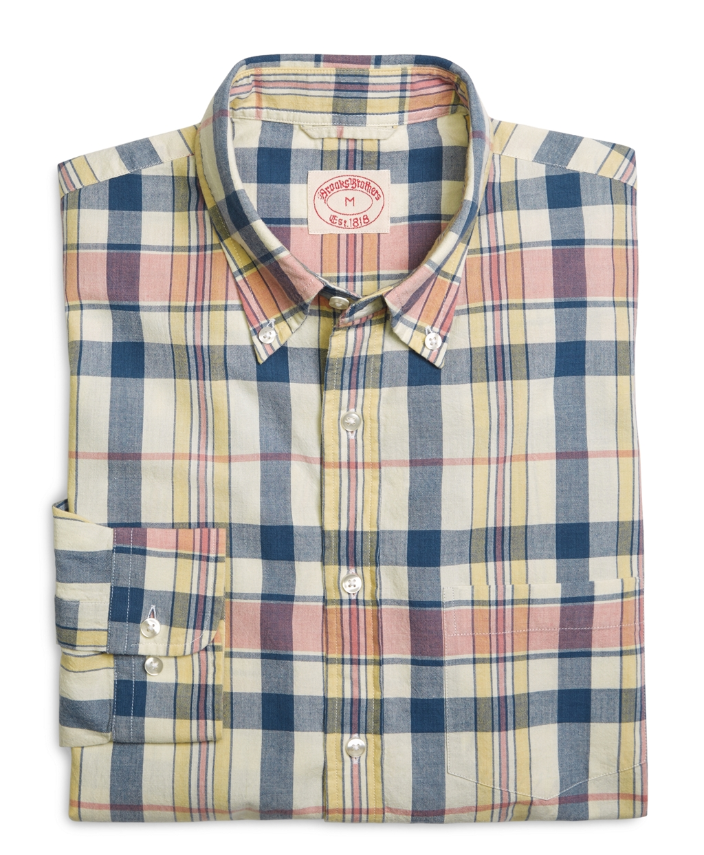 Brooks brothers Madras Sport Shirt