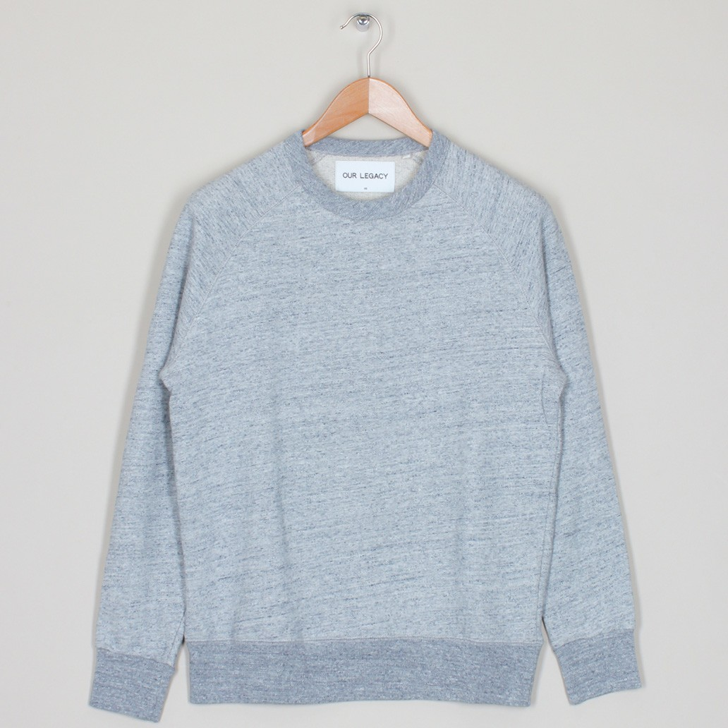Our Legacy 50s great sweat grey blue