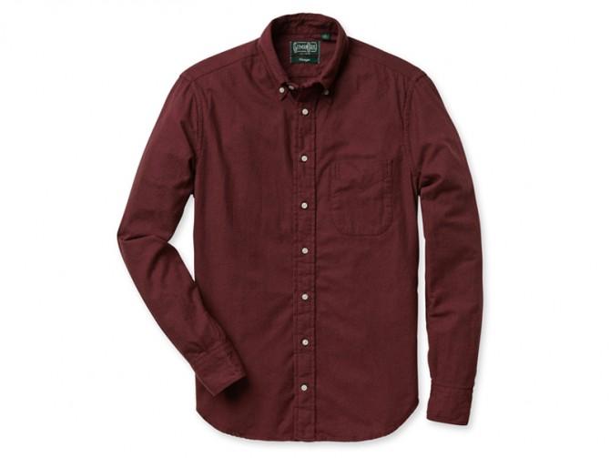La chemise en flanelle portugaise de Gitman Vintage